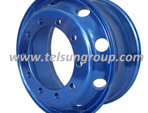 Customized Blue Colour Wheels