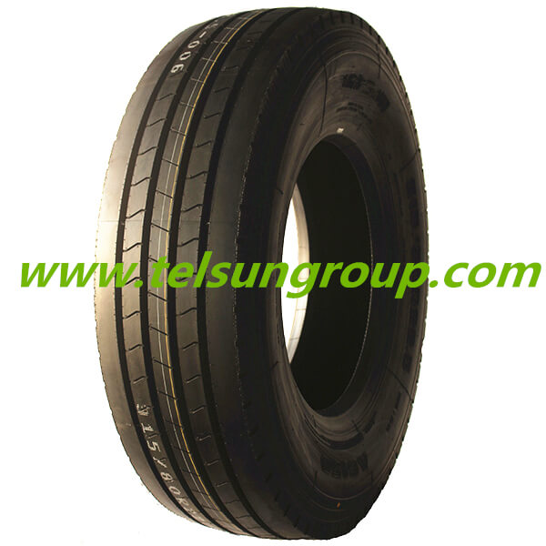 Telsun Super Wide Tread Pattern Tyres 295/80R22.5